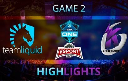 Team Liquid vs Keen Gaming (Game 2) Major ESL Highlights 28.10.2017 Dota 2