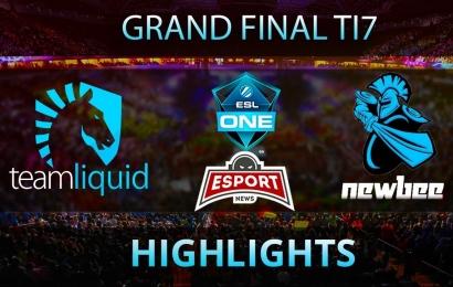 Newbee vs Liquid The International 2017 Grand Final TI7 DOTA2 Highlights