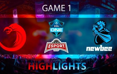 Dota 2: Newbee vs TNC Pro Team   ESL One Genting 2018   Game 1   Highlights   24.01.2018