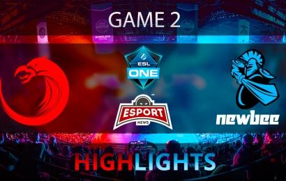Dota 2: Newbee vs TNC Pro Team   ESL One Genting 2018   Game 2   Highlights   24.01.2018