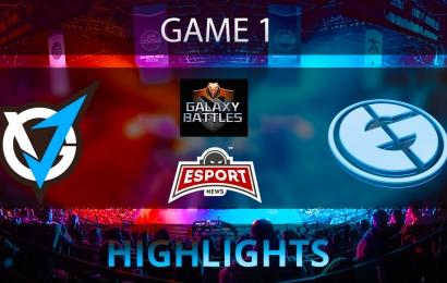 Dota 2: VGJ.Thunder vs Evil Geniuse   Galaxy Battles 2   Game 1   Highlights   21.01.2018