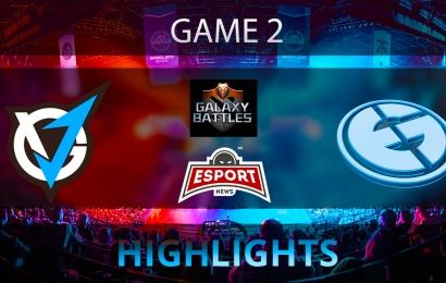 Dota 2: VGJ.Thunder vs Evil Geniuse   Galaxy Battles 2   Game 2   Highlights   20.01.2018