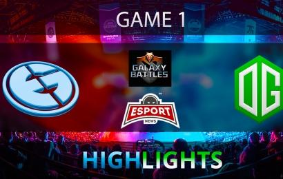 Dota 2: Evil Geniuses vs OG   Galaxy Battles 2   Semi-final   Game 1   Highlights   20.01.2018