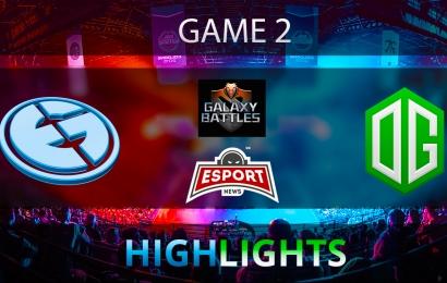 Dota 2: Evil Geniuses vs OG   Galaxy Battles 2   Semi-final   Game 2   Highlights   20.01.2018