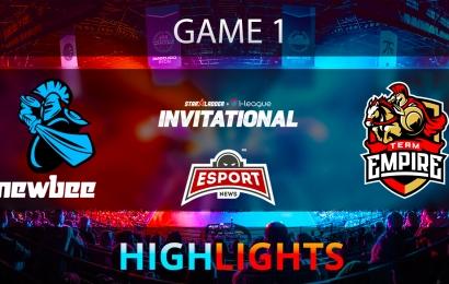 Dota 2: Newbee vs Team Empire   Starladder i-League   Game 1   Highlights