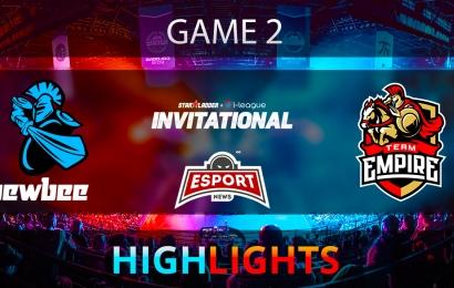 Dota 2: Newbee vs Team Empire   Starladder i-League   Game 2   Highlights   02.02.2018