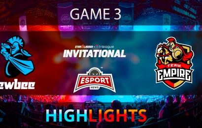 Dota 2: Newbee vs Team Empire   Starladder i-League   Game 3   Highlights   02.02.2018