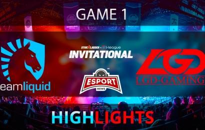 Dota 2: Team Liquid vs LGD Gaming   Starladder i-League   Game 1   Highlights   04.02.2018