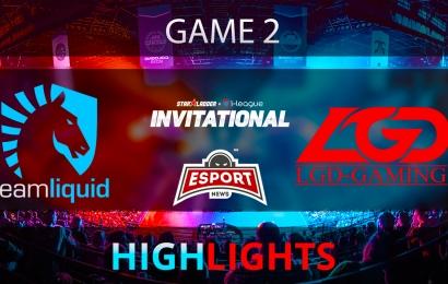 Dota 2: Team Liquid vs LGD Gaming   Starladder i-League   Game 2   Highlights   04.02.2018