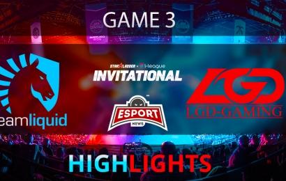 Dota 2: Team Liquid vs LGD Gaming   Starladder i-League   Game 3   Highlights   04.02.2018