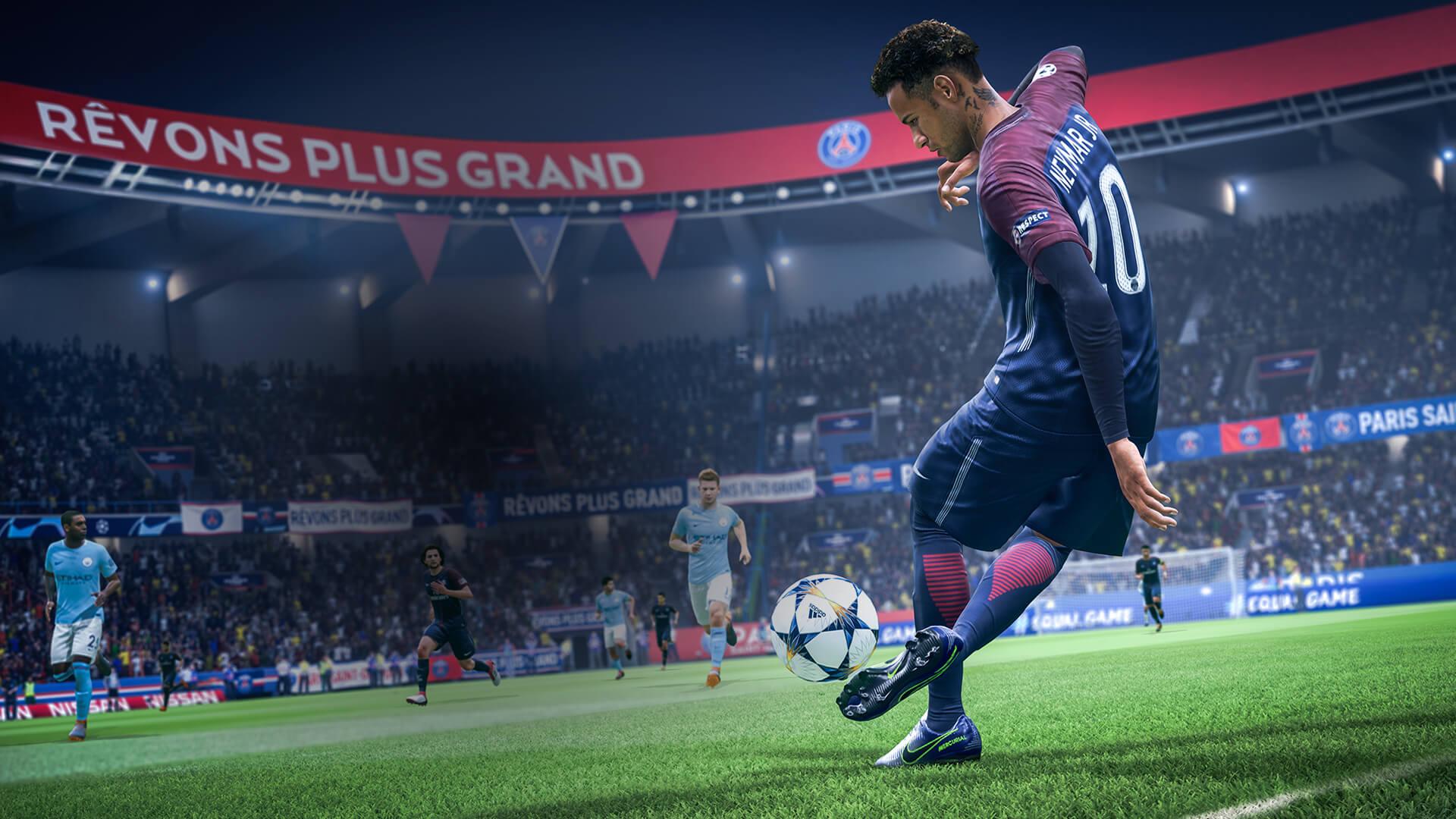 Неймар в FIFA 19