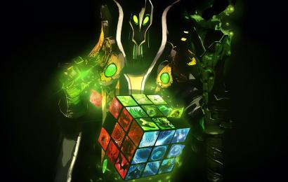 Rubick убивает любого персонажа с помощью одного скила