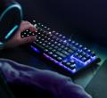 игровая клавиатура, клавиатура для геймеров, Corsair Gaming K65 RGB Rapidfire Compact, HyperX Alloy Elite, Logitech G613