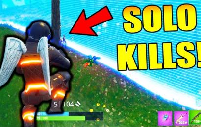 7 убийств за 1 минуту в Fortnite