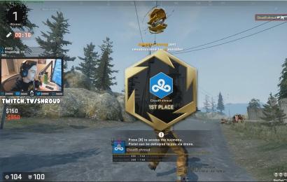 Первая победа Shroud в королевской битве CS:GO