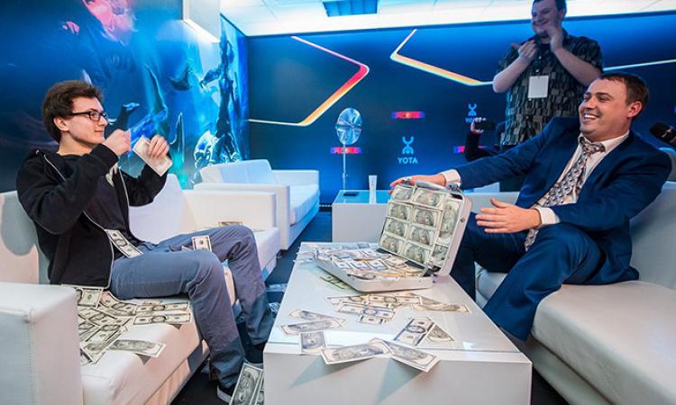 деньги dota2, сколько зарабатывают в Dota2, сколько выиграли VP