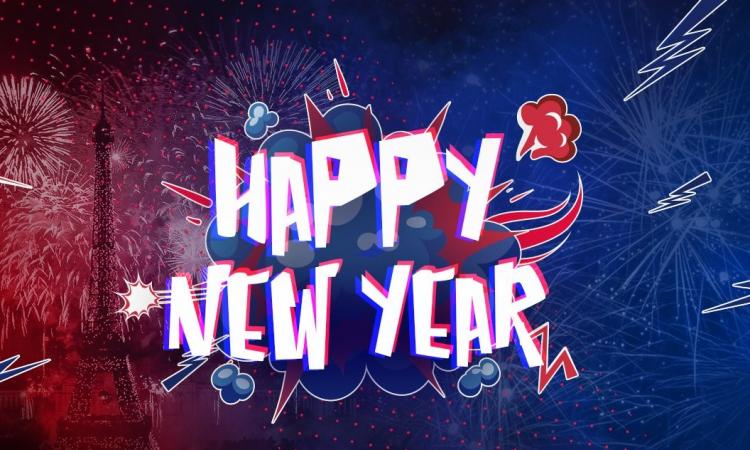 новый год, поздравление с новым годом
