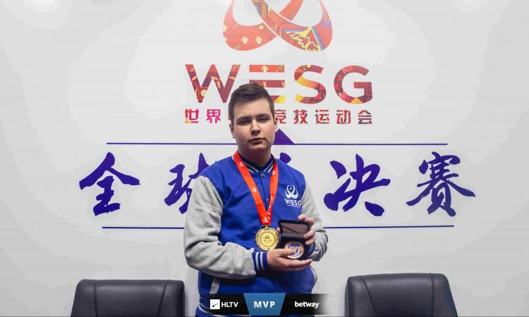 самый ценный игрок WESG 2018, mvp WESG 2018, SHiPZ