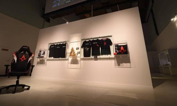 В Датском музее открылся стенд киберспортивной команды Astralis