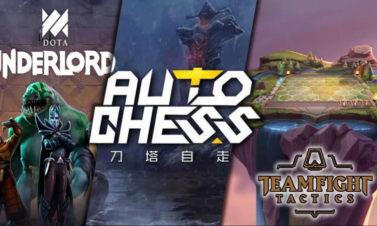 Dota Underlords, auto chess, dota auto chess