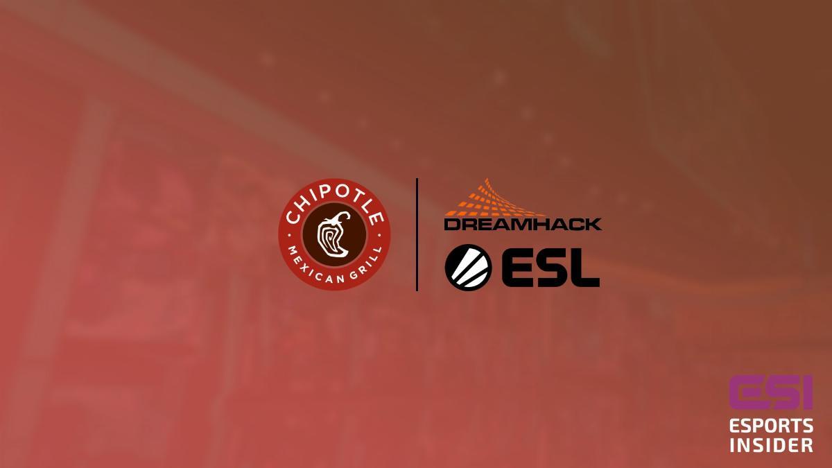 ESL и DreamHack партнеры Chipotle