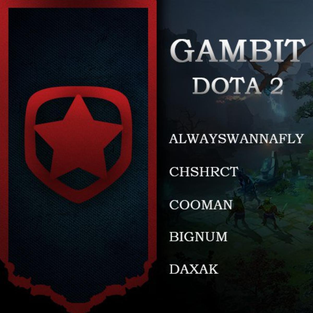 Gambit dota 2, ferzee dota 2,