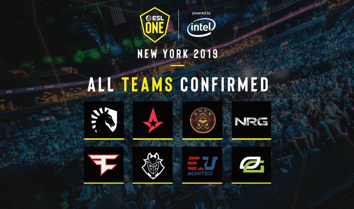 ESL One: New York 2019, турнир по cs:go