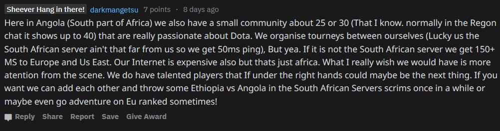 dota 2 в Африке, dota 2, VS Gaming, Bravado Gaming, киберспорт в Африке